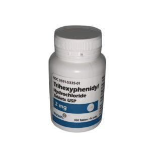 Buy Trihexyphenidyl Hydrochloride 2mg Online