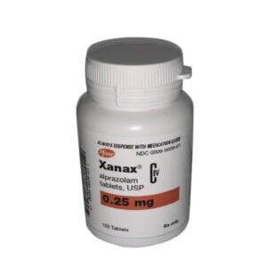 Buy Xanax XR Alprazolam 0.25 mg Online